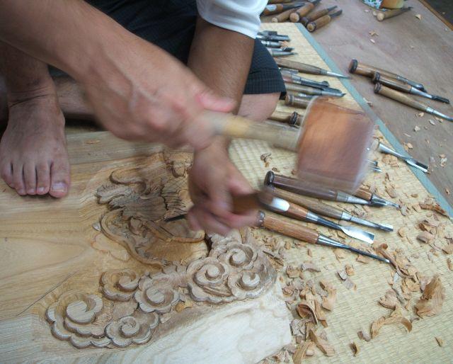 オーダーメイドの木彫り商品について