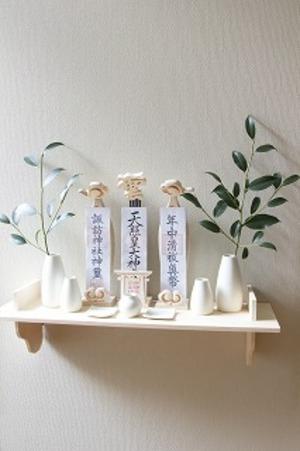 木彫 神棚 セットCK-2