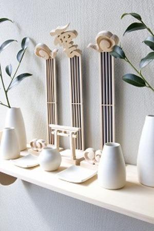 木彫 神棚 セット CK-KU