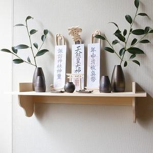 木彫 神棚 セット CK-1