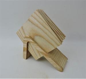 高級素材を使ったシンプルなデザインのコースターセット(ホワイトアッシュ)