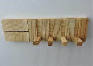 棚にもなる便利な多機能キーフック