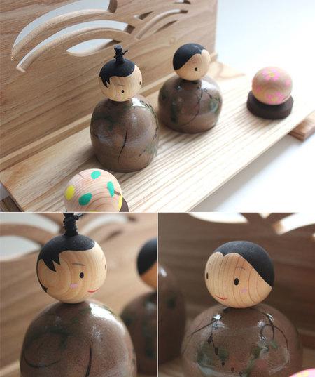 陶木雛 憩い(いこい)